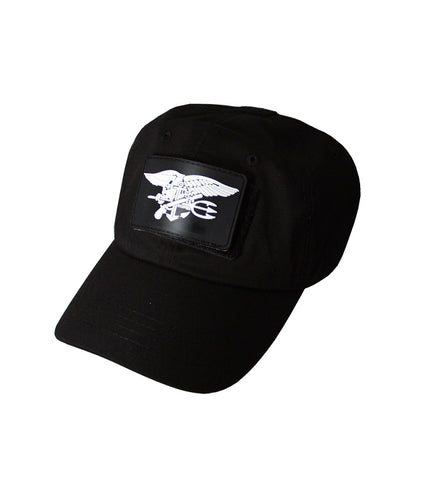 TACTICAL BLACK CAP ONE SIZE FITS ALL