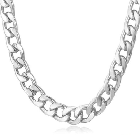 Stainless steel Rambo Cuban link necklace