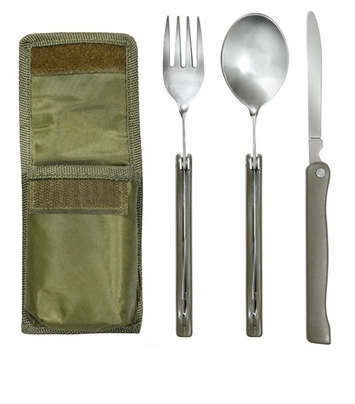 UTENSIL SET WITH OD POUCH
