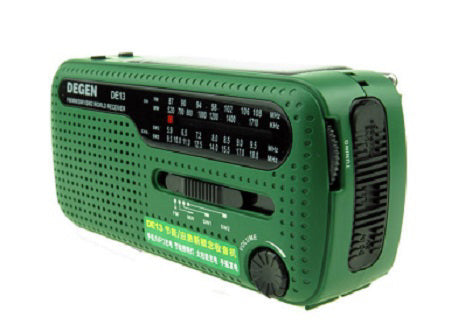 EMERGENCY SHORTWAVE RADIO FLASHLIGHT DYNAMO