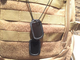 NS DOGTAGS MATTE BLACK WITH SILENCERS