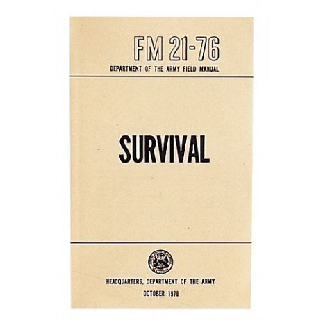 SURVIVAL MANUAL FM 21-76