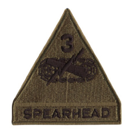 3rd Armored Spearhead Patch