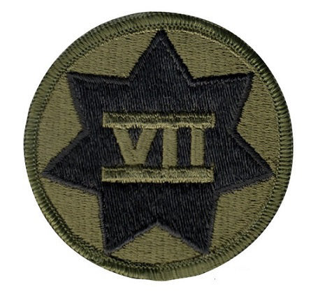 7th corps/subdued patch