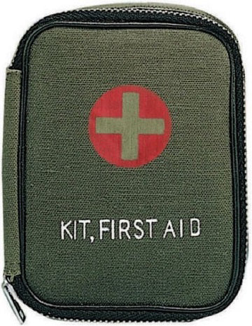 First aid kit OD belt pouch