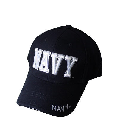 US NAVY CAP 3D EMBOIDERY BLUE AND WHITE