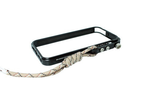 IPHONE ALUMINUM CASE WITH PARACORD