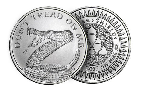 Don't Tread On Me Silver Coin