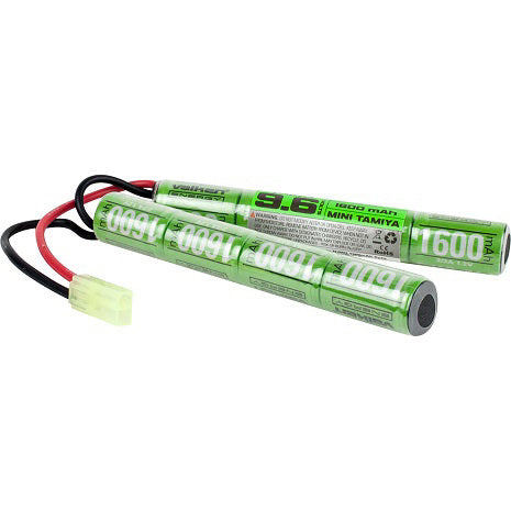 VALKEN BATTERY NiMH 9.6V 1600mAh SPLIT