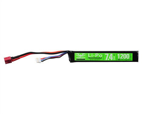 Lipo Airsoft Battery 7.4volt 1200mAh 20c