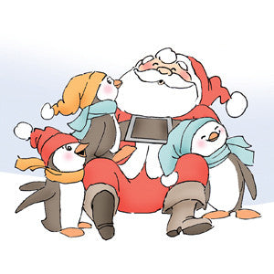 Santa & Penguins