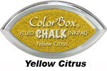 Yellow Citrus Fluid Chalk Cat's Eye Ink Pad