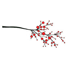 Elegant Berry Branch