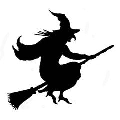 Silhoutte Witch