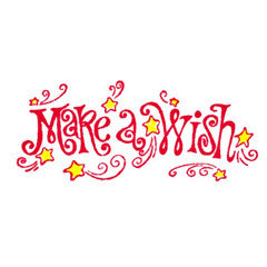 Whimsical Wish Rubber Stamp