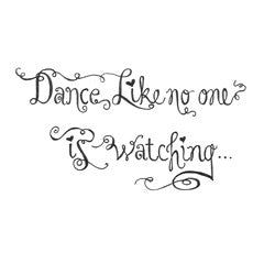 Dance Rubber Stamp From Great Impressions