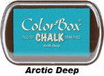 Fluid Chalk Arcrtic Deep ColorBox Pad by Clearsnap