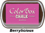 Fluid Chalk Berrylicious ColorBox Pad by Clearsnap