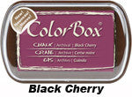 Fluid Chalk Black Cherry ColorBox Pad by Clearsnap