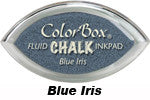 Blue Iris Fluid Chalk Cat's Eye Ink Pad