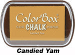 Fluid Chalk Candied Yam ColorBox Pad by Clearsnap