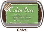 Fluid Chalk Chive ColorBox Pad by Clearsnap