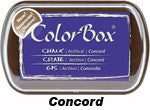 Fluid Chalk Concord ColorBox Pad by Clearsnap