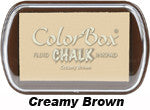 Fluid Chalk Creamy Brown ColorBox Pad by Clearsnap