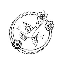 Bird Motif Rubber Stamp From Great Impressions