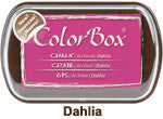 Fluid Chalk Dahlia ColorBox Pad by Clearsnap