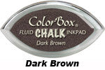 Dark Brown Fluid Chalk Cat's Eye Ink Pad