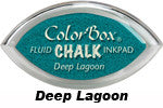 Deep Lagoon Fluid Chalk Cat's Eye Ink Pad