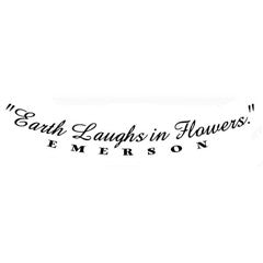 Earth Laughs in Flowers Rubber Stamp