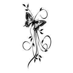 Butterfly Arrangement Rubber Stamp by Great Impressions