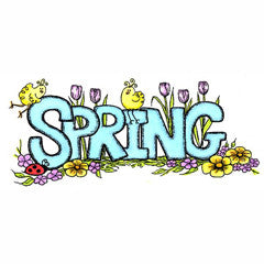 Celebrating Spring Rubber Stamp