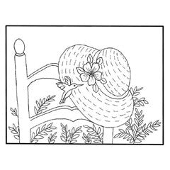 Spring Hat Frame Rubber Stamp From Great Impressions
