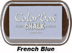 Fluid Chalk French Blue ColorBox Pad by Clearsnap