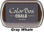 Fluid Chalk Gray Whale ColorBox Pad by Clearsnap
