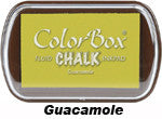 Fluid Chalk Guacamole ColorBox Pad by Clearsnap