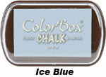 Fluid Chalk Ice Blue ColorBox Pad by Clearsnap