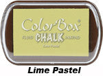 Fluid Chalk Lime Pastel ColorBox Pad by Clearsnap