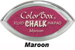Maroon Fluid Chalk Cat's Eye Ink Pad