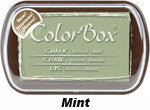 Fluid Chalk Mint ColorBox Pad by Clearsnap