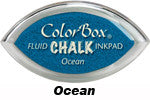 Ocean Fluid Chalk Cat's Eye Ink Pad