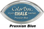 Prussian Blue Fluid Chalk Cat's Eye Ink Pad