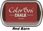 Fluid Chalk Red Barn ColorBox Pad by Clearsnap