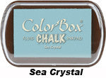 Fluid Chalk Sea Crystal ColorBox Pad by Clearsnap