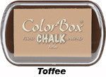 Fluid Chalk Toffee ColorBox Pad by Clearsnap