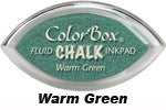 Warm Green Fluid Chalk Cat's Eye Ink Pad