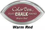 Warm Red Fluid Chalk Cat's Eye Ink Pad